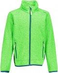CMP Kinder Knit Tech Jacke (Größe 92, Grün)