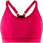 Craft Damen Motion Sport BH (Größe XS, Rot) | Sport-BHs > Damen