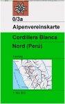 DAV AV-Karte 0/3a Cordillera Blanca (Perú)