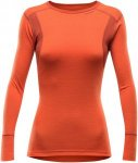 Devold Damen Hiking Longsleeve Rot L