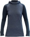 Devold Damen Patchell Hoodie (Größe XS, Blau)