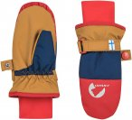 Finkid Kinder Kirjava Handschuhe (Größe L, Braun)