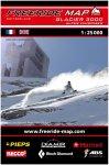 Freeride Map Glacier3000/Alpes Vaudoises - Ski