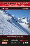 Freeride Map Grenoble Select - Ski