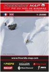 Freeride Map Pic du Midi de Bigorre/Grand Tourmalet - Ski