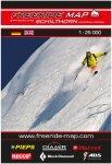 Freeride Map Schilthorn Jungfrau Region - Ski
