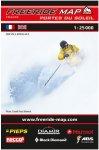 Freeride Map Portes du Soleil - Ski