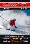 Freeride Map Anniviers - Ski