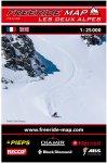 Freeride Map Les Deux Alpes - Ski