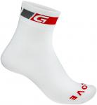 GripGrab Summer Sock, Regular Cut (Größe 38, 39, 40, 41, Weiß) | Füßlinge