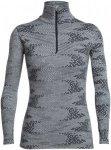 Icebreaker Damen Vertex Flurry Zip-Shirt Grau S