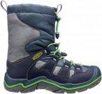 Keen Kinder Winterport II WP Schuhe Blau 29