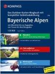 Kompass Verlag Bayerische Alpen Outdoor-Karten-Ringbuch