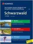 Kompass Verlag Schwarzwald Outdoor-Karten-Ringbuch