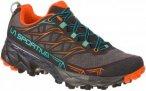 La Sportiva Damen Akyra Schuhe (Größe 38.5, Grau) | Trailrunningschuhe > Damen