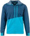 La Sportiva Herren Training Day Hooded Jacke (Größe S, Blau) | Fleecejacken >
