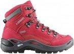 Lowa Damen Renegade GTX Mid Schuhe Rot 38