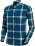 Mammut Herren Mountain Longsleeve Hemd (Größe 3XL, Blau)   Hemden > Herren