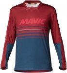 Mavic Herren Deemax Pro LS Radtrikot (Größe L, Rot)