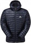 Mountain Equipment Herren Arete Hooded Jacke(Größe XL, Blau)