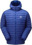 Mountain Equipment Herren Arete Hooded Jacke(Größe L, Blau)
