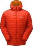 Mountain Equipment Herren Arete Hooded Jacke Rot S