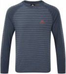 Mountain Equipment Herren Redline LS Tee (Größe XL, Blau) | Longsleeves Freize