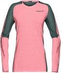 Norrona Damen Bitihorn Wool Longsleeve (Größe XS, Pink) | Longsleeves Merino >