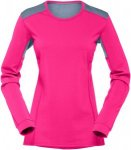 Norrona Damen Falketind Super Wool Longsleeve Pink L