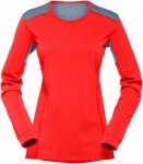 Norrona Damen Falketind Super Wool Longsleeve Rot XS