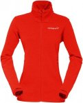 Norrona Damen Falketind Warm1 Jacke Rot S