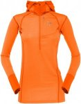 Norrona Damen Super Hoodie Orange M