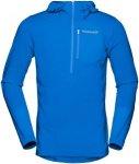 Norrona Herren Bitihorn Warm 1 Stretch Hoodie (Größe M, Blau)