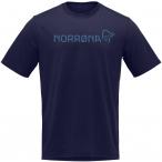 Norrona Herren Cotton Norrøna Viking T-Shirt (Größe S, Blau)