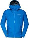 Norrona Herren Falketind GTX Jacke (Größe S, Blau) | Hardshelljacken & Regenja