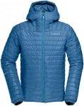 Norrona Herren Falketind Primaloft100 Hooded Jacke Blau S