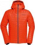 Norrona Herren Falketind Primaloft100 Hooded Jacke Orange XXL