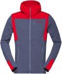 Norrona Herren Falketind Warm1 Stretch Zip Hoody Grau XL