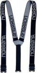 Norrona Suspenders Schwarz