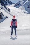 Odlo Damen Zeroweight Warm Hose (Größe XL, Grau) | Langlaufhosen > Damen