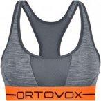 Ortovox Damen 185 Rock'n'Wool Sport Bra Top Grau L