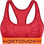 Ortovox Damen 185 Rock'n'Wool Sport Bra Top Rot M