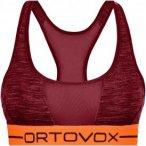 Ortovox Damen 185 Rock'n'Wool Sport Bra Top Rot S