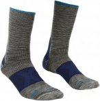 Ortovox Herren Alpinist Mid Socke (Größe 45, 46, 47, Grau)