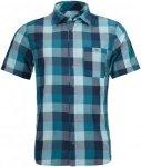 Ortovox Herren Cortina Shirt Kurzarm Hemd Blau S