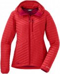 Outdoor Research Damen Verismo Down Hooded Jacke Rot S