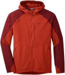 Outdoor Research Herren Ferrosi Hooded Jacke Rot L