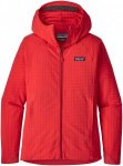 Patagonia Damen TechFace R1 Hooded Jacke Rot L