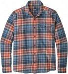 Patagonia Herren Fjord Flannel LW Shirt Blau L