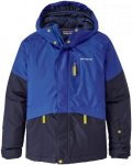 Patagonia Kinder Fresh Tracks Boys Jacke Blau M